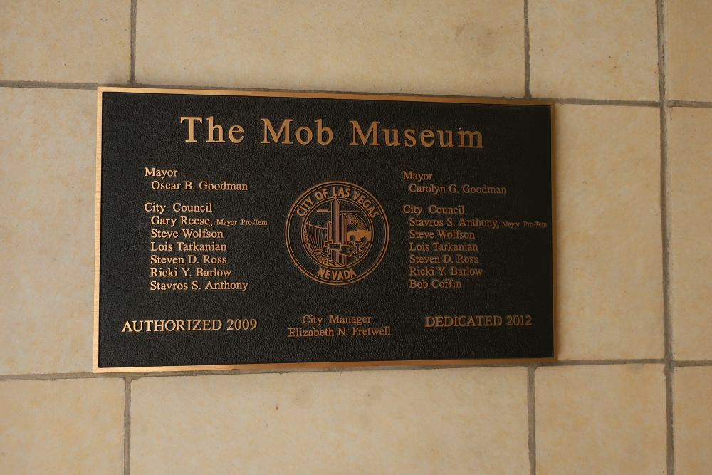 Visit to the Mob Museum and dining at the Freedom Beat