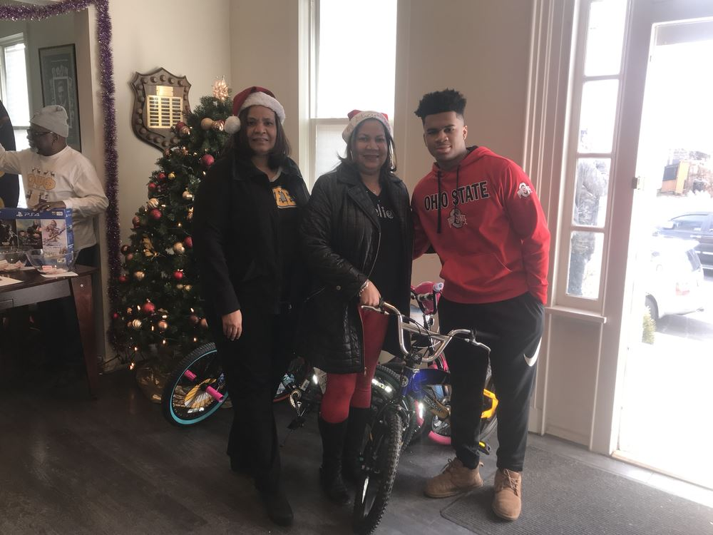 Family contributed bike