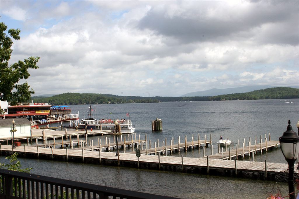 Tuesday's trip to Lake Winnipesaukee.