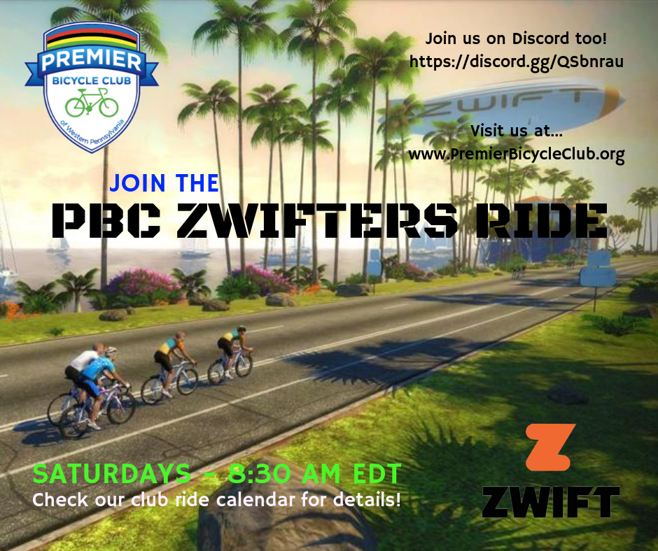 Zwift - PBC Zwifters Ride: Watopia's Road To The Ruins