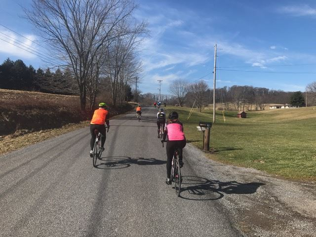 We had a beautiful day for a ride.  I hope that damn groundhog was wrong this year - we need Spring sooner!