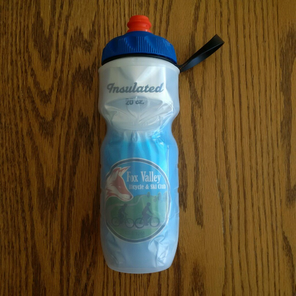 20 oz club water bottle