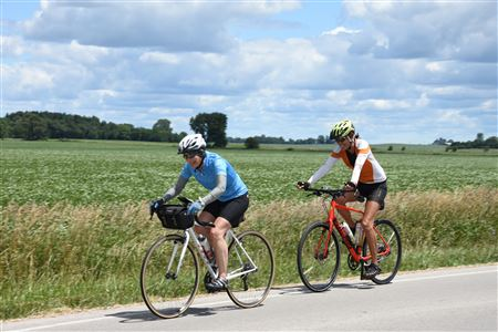 Riders along Keslinger Road