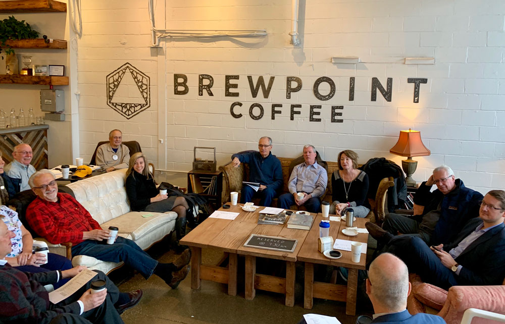 First Meeting at Brewpoint