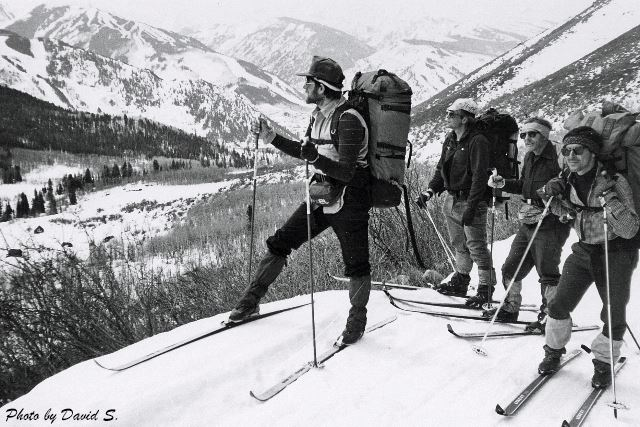 From the early days of the North Stars Ski Touring Club: Activities.