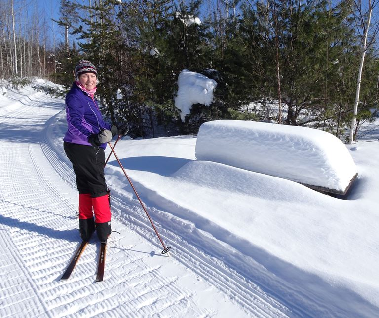 Skiing at Bearskin Lodge on the Gunflint Trail, January 19-21, 2018