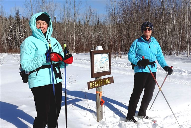 A full week at Bearskin Lodge on the Gunflint Trail, with choices for skiing at multiple trail systems along the Gunflint.