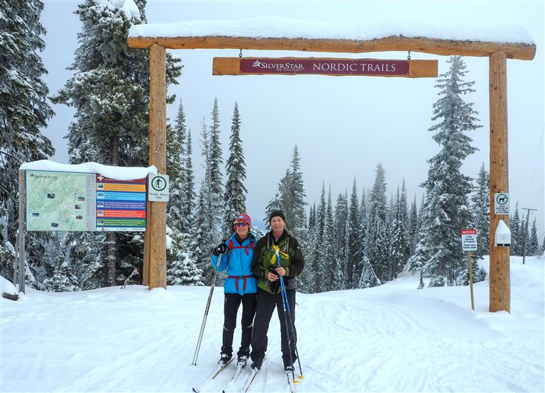 Skiing, Snow, and Winter are all Alive and Well in Central B.C. Mid January, 2017