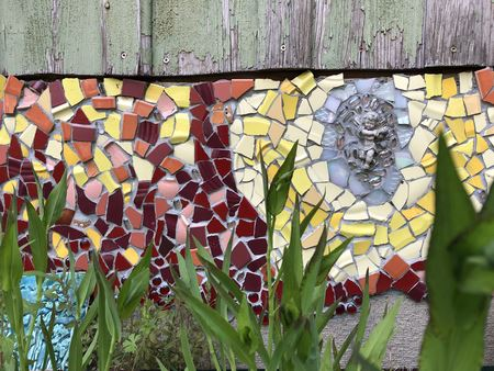 A sample portfolio of mosaics by Mary Trahanovsky