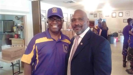 The Omega Psi Phi Fraternity committed 200 volunteers to aid with preparing meals for the homeless.  The Initiative proved fruitful and helped build a strong community alliance.