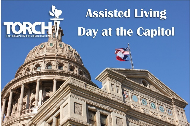 TORCH Assisted Living Day at the Capitol