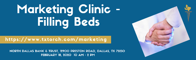 Marketing Clinic - Dallas - 2020-02-18