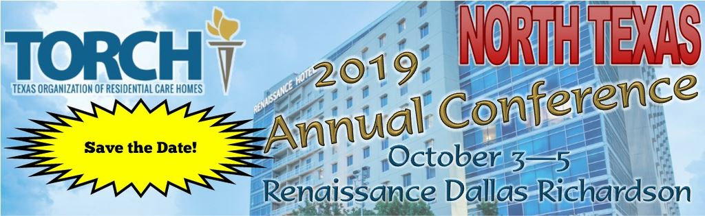 Save the Date! 2019 Conference October 3-5, 2019
