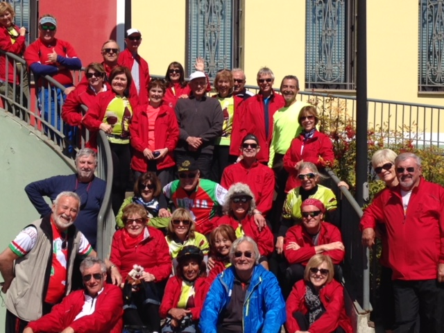 Italy Bike and Boat Trip 2015 Group Photo