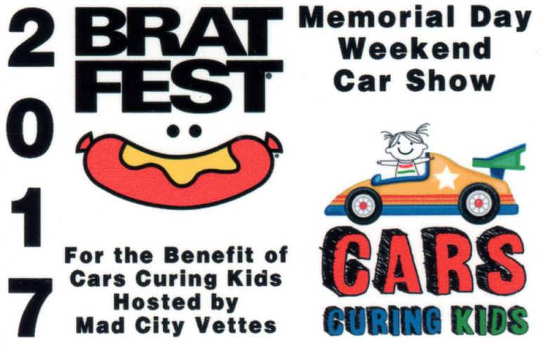 Pictures from Brat Fest MCV hosted car show supporting Cars Curing Kids.