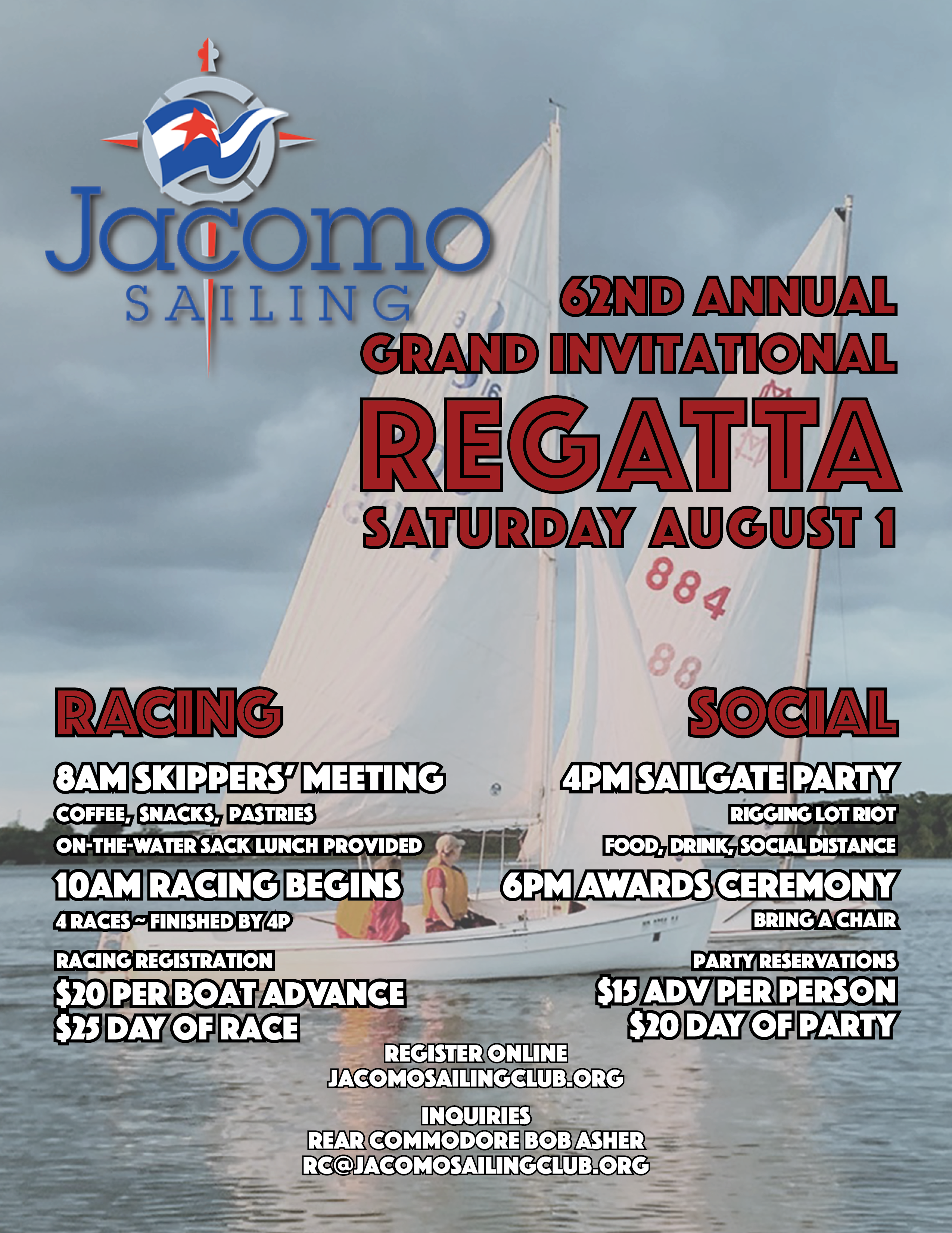 2020 Invitational Regatta Flyer