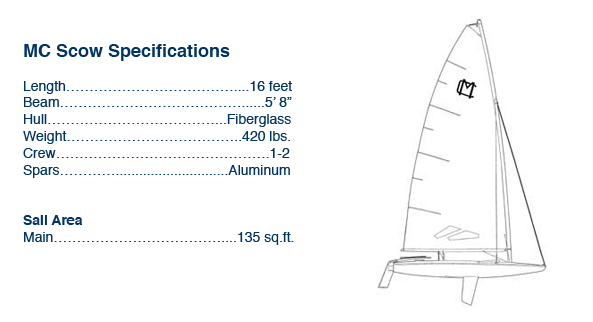 MC Scow Specifications