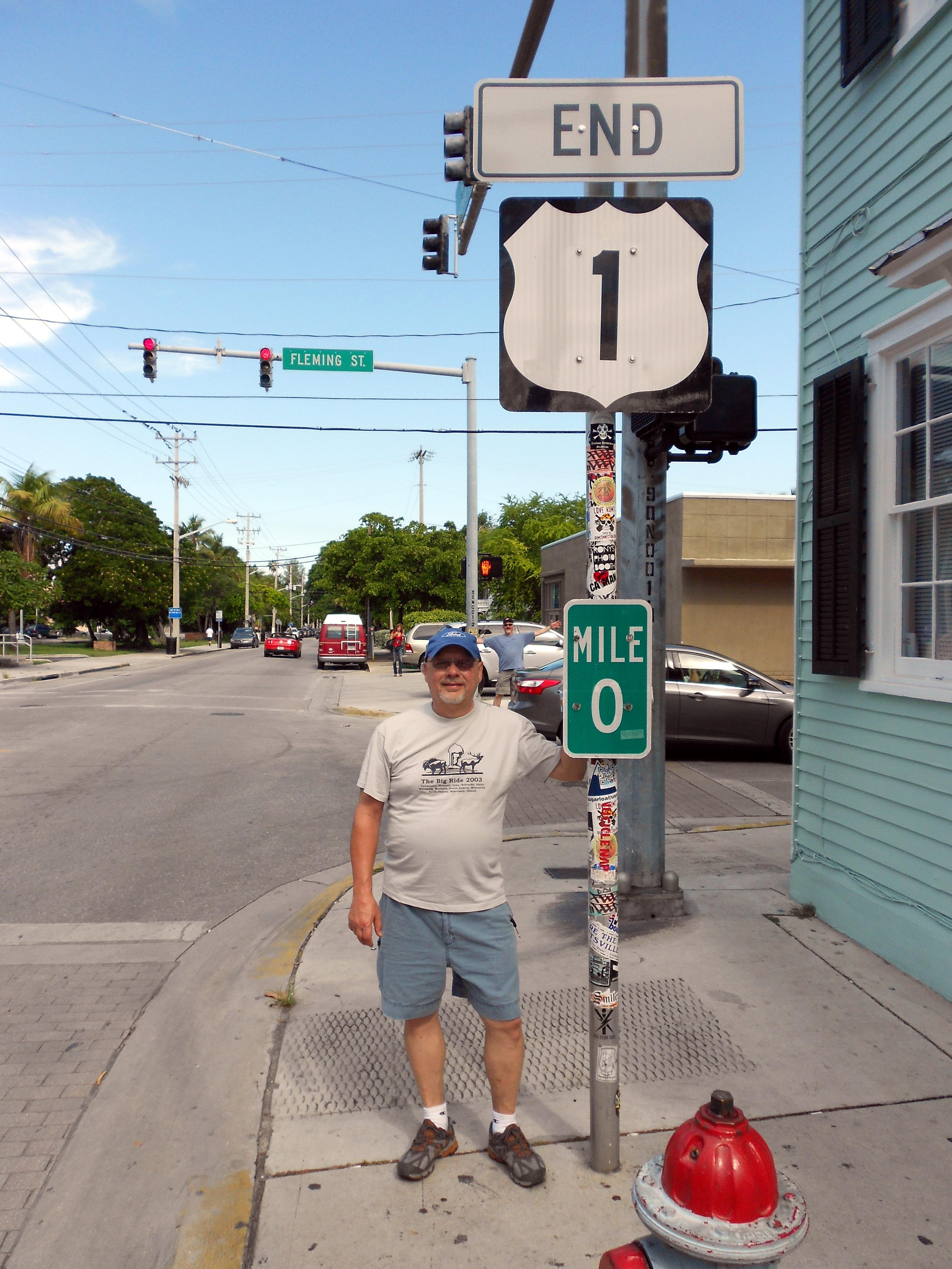 Mile 0 Sign