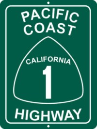 Pac Coast Highway Sign