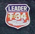 H: T-34 Association Leader  Patch - click to view details