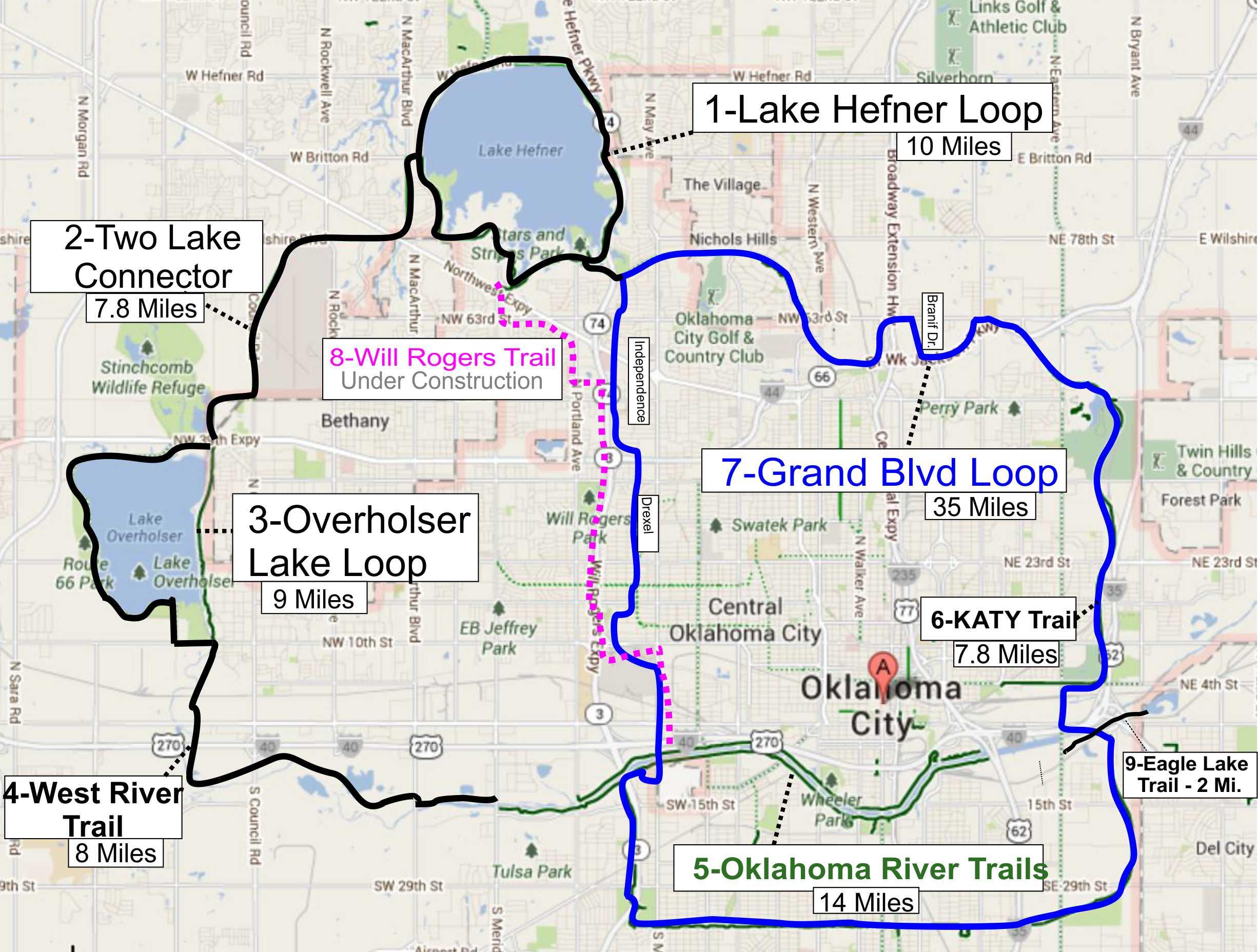 Where to Ride - Oklahoma Bicycle Society on