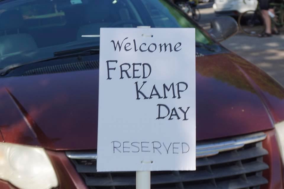 Fred Kamp Day during the COVID-19 pandemic.