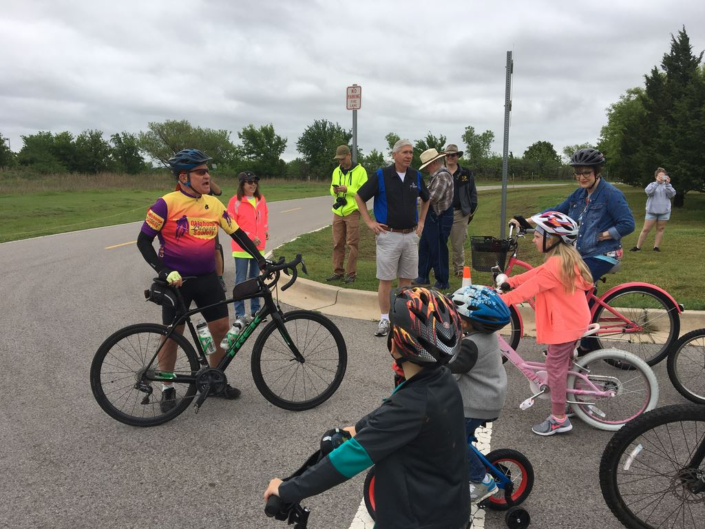 2019 Edmond Family Ride to kick off May Bike Month.