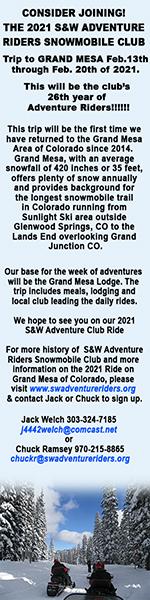 S & W Adventure Riders 2021 Trip