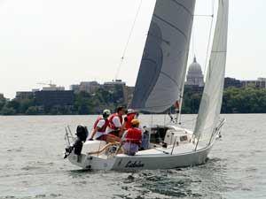 Keelboat Fleet - Past Seasons - Mendota Yacht Club