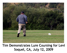 Levi Lure Coursing