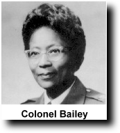 First African American femal Colonel