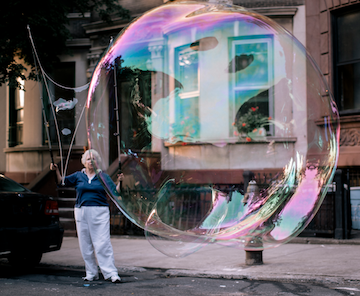 bubble large
