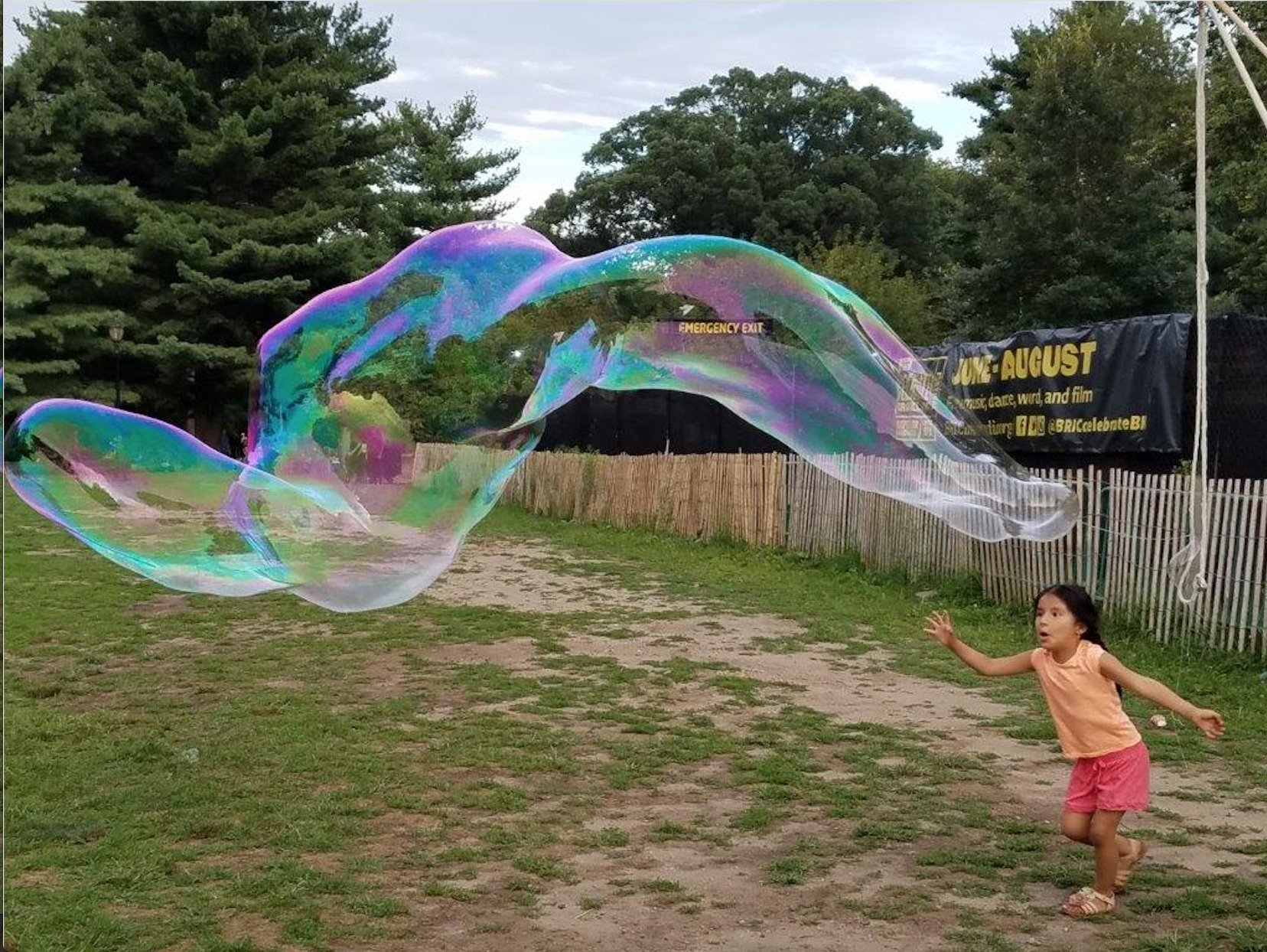 Bubbles at Park