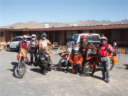 Woods Riders trip to middle of no where in Nevada desert. Middlegate Station.