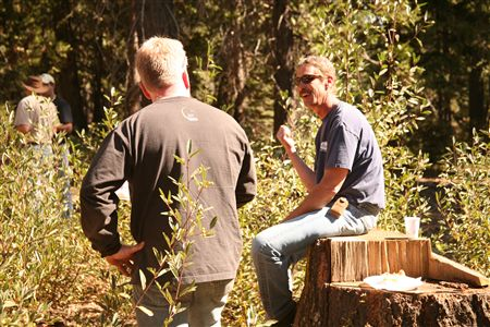 NCWR participates in annual trail workday on October 10, 2009.
