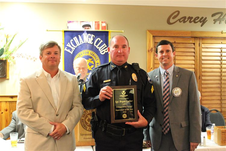 Sgt. Bryan Gerber, Supervisor of the Year