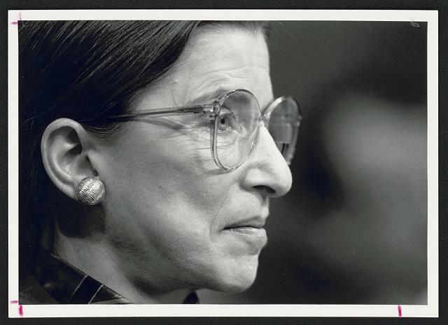 Ruth Bader Ginsburg Library of Congress Image