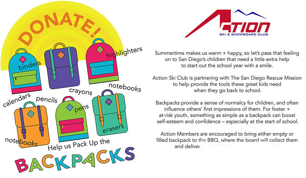 Foster Kids Backpack Drive