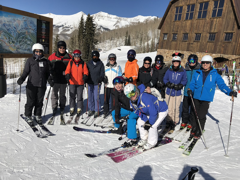 Telluride Group on Snow