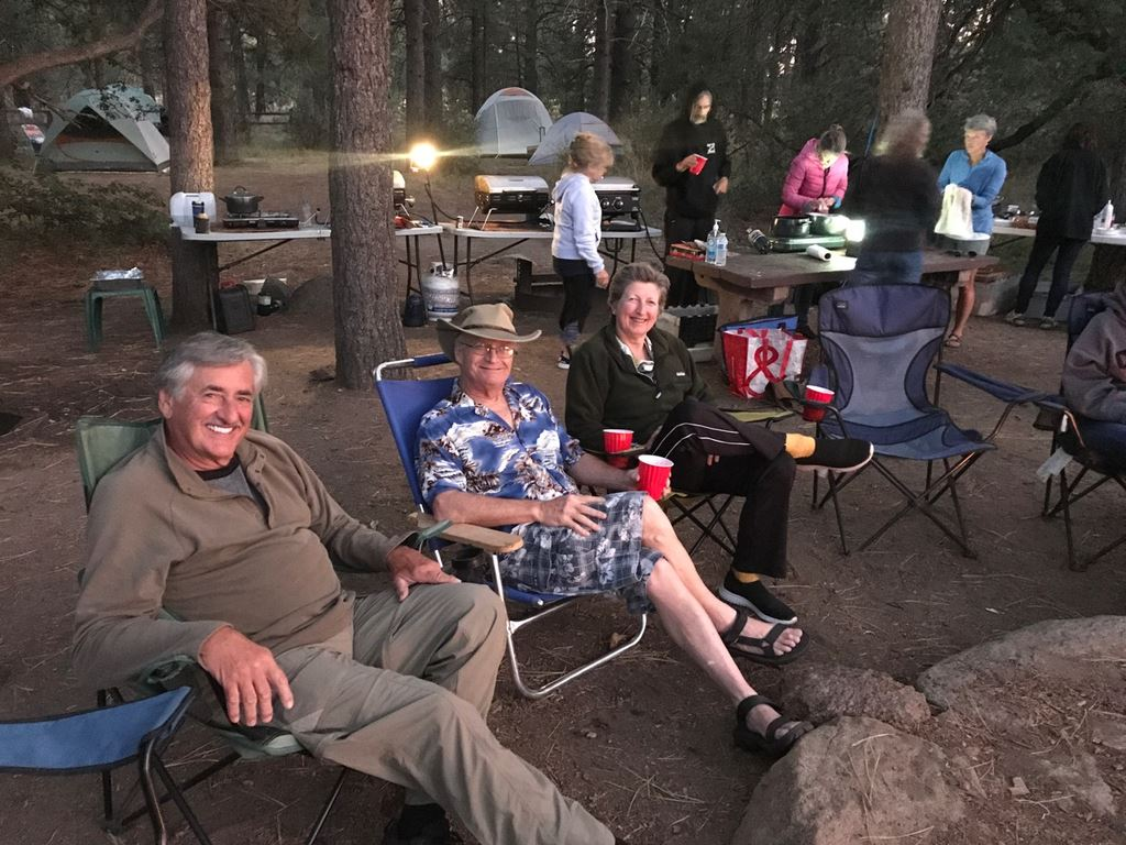 Three day campout in the Big Sage site of the El Prado Group Campground Sept 5-8.