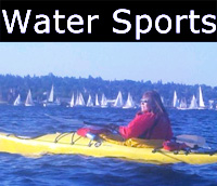 Kayaking, water skiing, river rafting and scuba diving trips