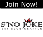 Click here to join S'no Joke Ski Club of Seattle!