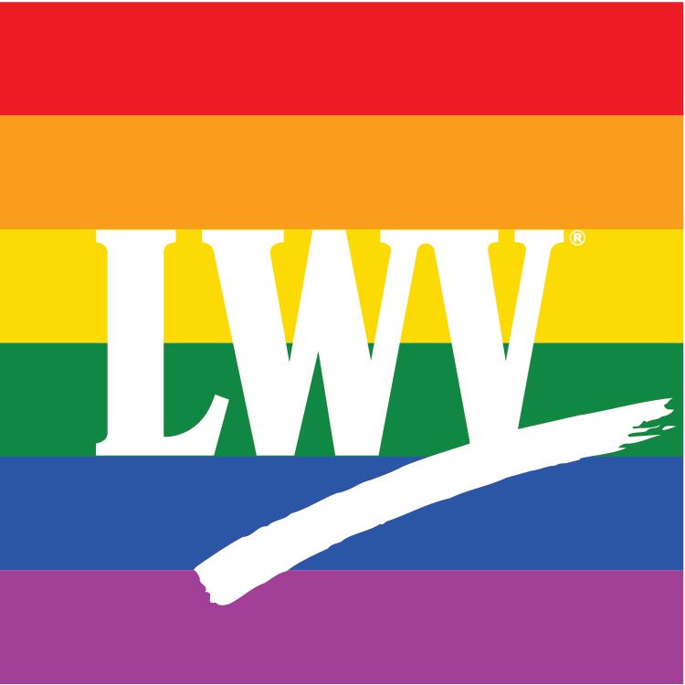 LWV-rainbow logo