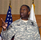 Bro. Kip Ward, 5th Black 4-Star General, 1St Cdr. AFRICOM