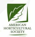 American Horticultural Society logo
