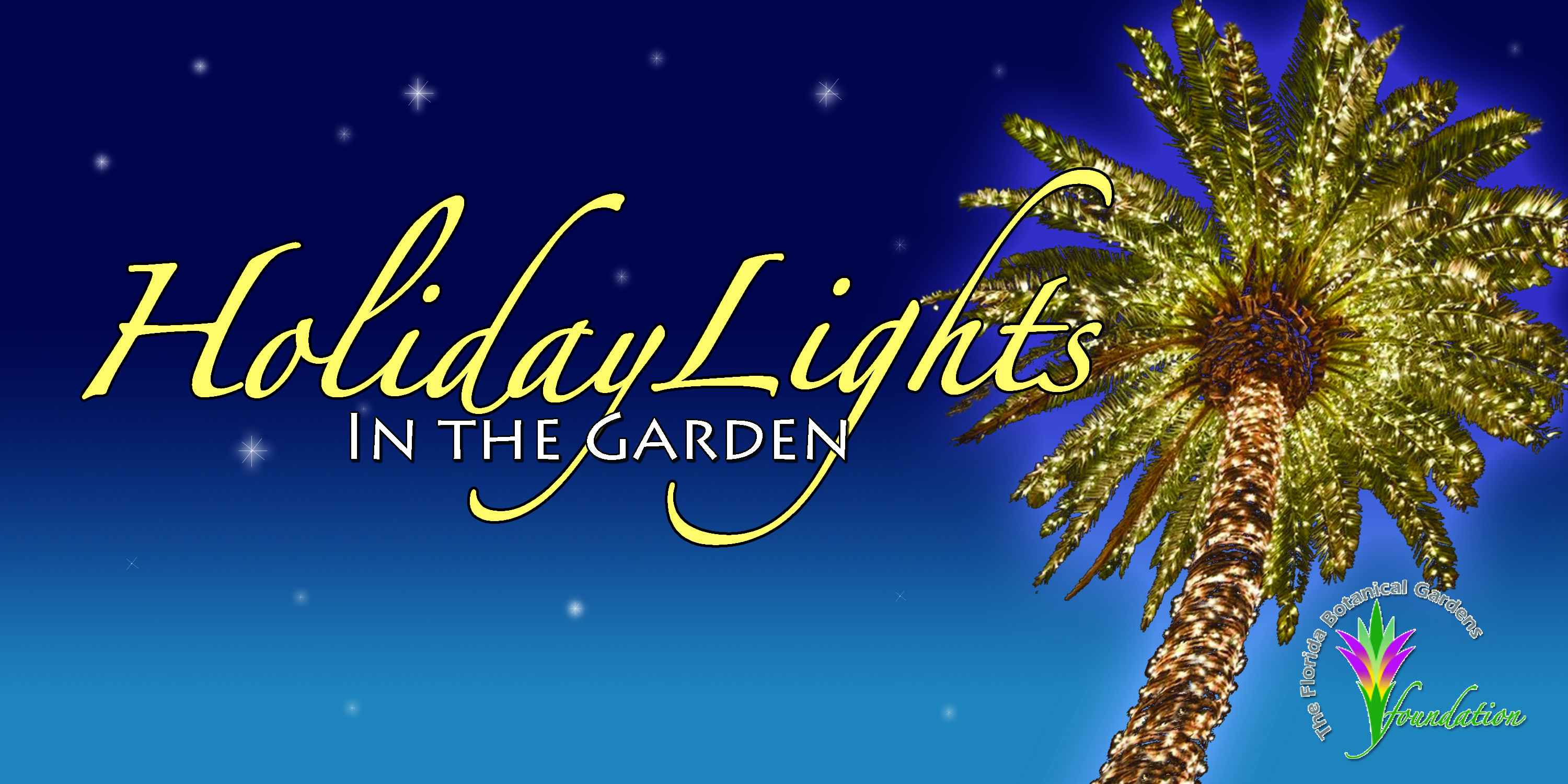 Holiday Lights in the Gardens logo