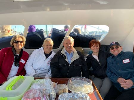 Sweet Liberty sunset cruise on January 21, 2020 - coldest day in two years!