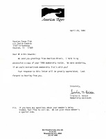 Letter 1989-04 American Rivers