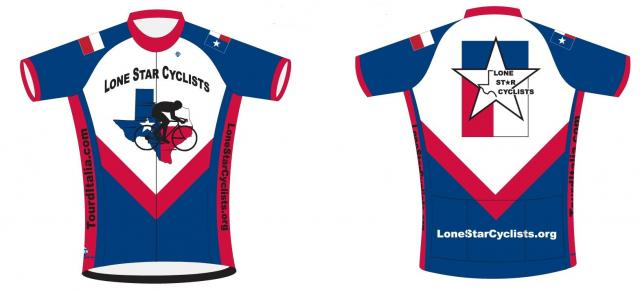 Lone Star Jersey Front