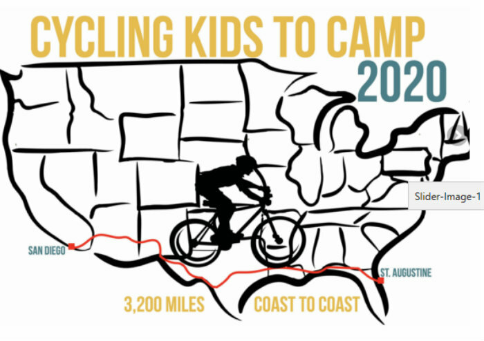 Cycling Kids to Camp 2020